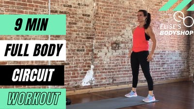 FULL BODY CIRCUIT 8.0 - EQUIP: DUMBBELLS - LEVEL: BEGINNER by Elise's Bodyshop