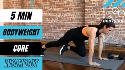 BODYWEIGHT CORE FINISHER 2.0 - LEVEL: BEGINNER by Elise's Bodyshop