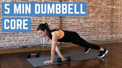 DUMBBELL CORE FINISHER 3.0 - LEVEL INTERMEDIATE by Elise's Bodyshop