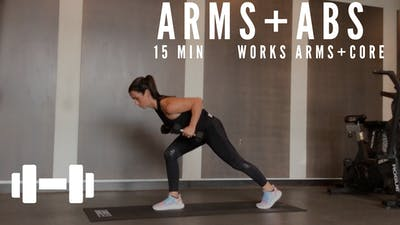 ARMS + ABS 3.0 - EQUIP: DUMBBELLS - LEVEL: ADVANCED by Elise's Bodyshop