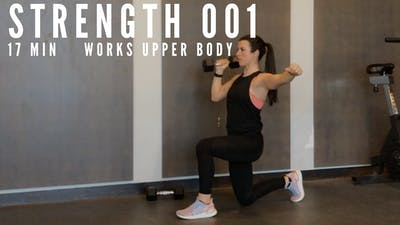 UPPER BODY STRENGTH 1.0 - EQUIP: DUMBBELLS - LEVEL: INTERMEDIATE by Elise's Bodyshop