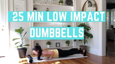 LOW IMPACT 3.0 - EQUIP: DUMBBELLS - LEVEL: INTERMEDIATE by Elise's Bodyshop