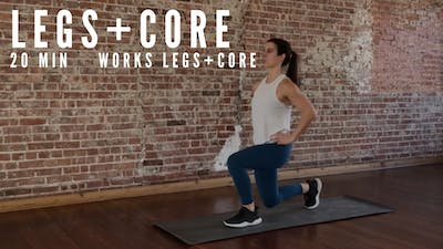 LEGS + CORE CIRCUIT 1.0 - EQUIP: BODYWEIGHT - LEVEL: INTERMEDIATE by Elise's Bodyshop