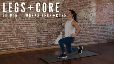 LEGS + CORE 002 - EQUIP: BODYWEIGHT ONLY by Elise's Bodyshop