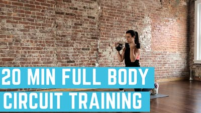 FULL BODY CIRCUIT 2.0 - EQUIP: DUMBBELLS - LEVEL: MEDIUM by Elise's Bodyshop