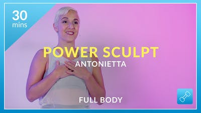 Power Sculpt with Antonietta by Physique 57