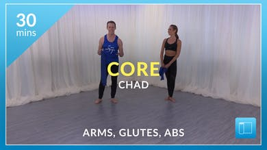 Core: Band Series with Chad (Arms, Glutes and Abs) by Physique 57