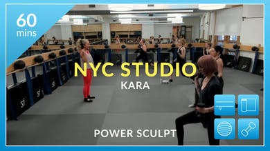 NYC Studio: Power Sculpt with Kara February 18th by Physique 57