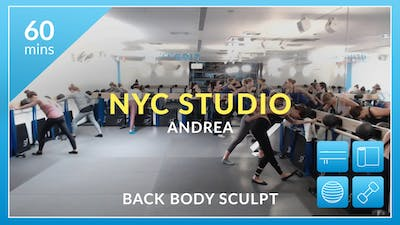 NYC Studio: Back Body Sculpt with Andrea December 13th by Physique 57