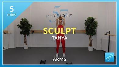 Sculpt: 5 Minute Arms with Tanya by Physique 57
