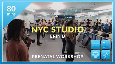 NYC Studio: Prenatal Workshop with Erin by Physique 57