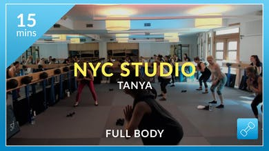 NYC Studio: Total Body Warmup with Tanya September 23rd by Physique 57