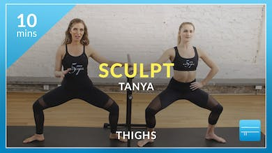 Barre 101 Sculpt: Thighs with Tanya by Physique 57