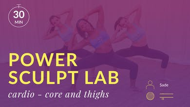 Lose 10 in 10 Power Sculpt Lab: Cardio Burn (Core and Thighs) by Physique 57