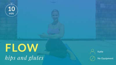 Flow: Hips and Glutes Stretch by Physique 57
