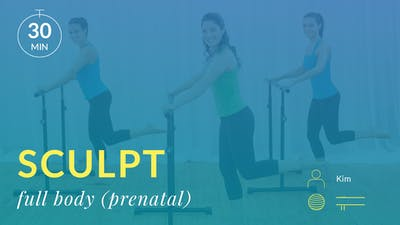 Sculpt: Full Body (Prenatal Variations) by Physique 57