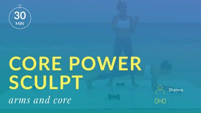 Best Beach Body Core Power Sculpt: Arms and Abs by Physique 57