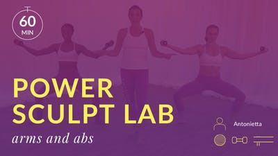 Lose 10 in 10 Power Sculpt Lab: Arms and Abs by Physique 57