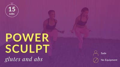 Power Sculpt: Glutes and Abs by Physique 57