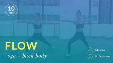 Flow: Back Body Yoga by Physique 57