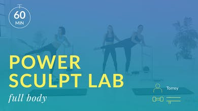 Accelerate to Great Power Sculpt Lab: Total Body by Physique 57