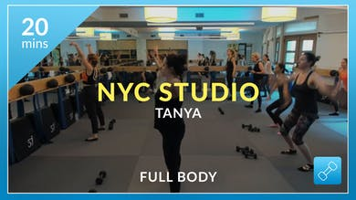 NYC Studio: Full Body with Tanya August 15th by Physique 57
