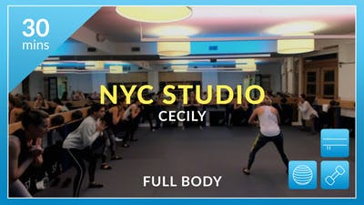 NYC Studio: Full Body with Cecily October 18th by Physique 57