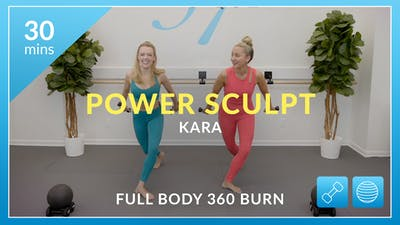 Power Sculpt - Full Body 360 Burn with Kara by Physique 57