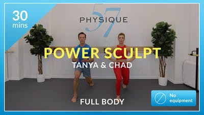 30 Minute Power Sculpt with Chad and Tanya by Physique 57