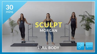 Accelerate to Great Sculpt: Full Body with Morgan by Physique 57