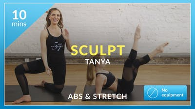 Barre 101 Sculpt: Abs and Stretch with Tanya by Physique 57