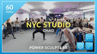NYC Studio: Power Sculpt Lab with Chad November 4th by Physique 57