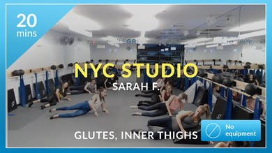NYC Studio: Glutes and Inner Thighs with Sarah F. October 23rd by Physique 57