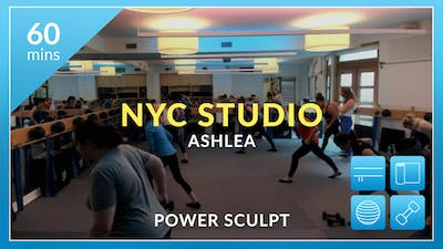 NYC Studio: Power Sculpt with Ashlea September 29th by Physique 57