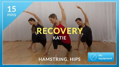 Recovery: Hamstring and Hip Stretch with Katie by Physique 57