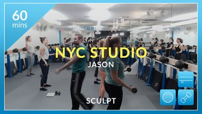 NYC Studio: Sculpt with Jason November 1st by Physique 57