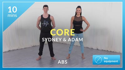 Core with Sydney and Adam by Physique 57