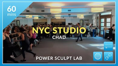 NYC Studio: Power Sculpt Lab with Chad October 2nd by Physique 57