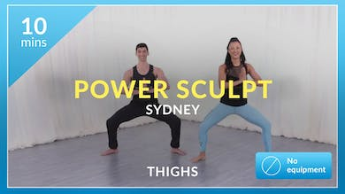 Power Sculpt: Thighs with Sydney by Physique 57