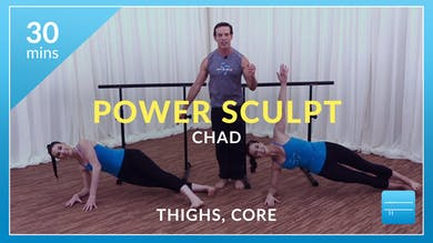Power Sculpt: Thighs and Abs with Chad by Physique 57