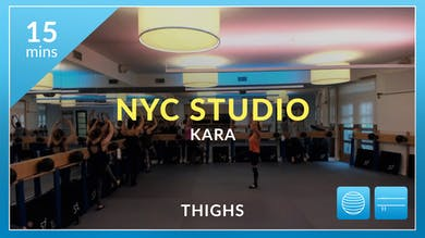NYC Studio: Thighs with Kara November 5th by Physique 57
