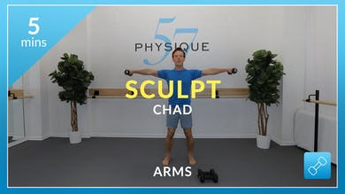 Sculpt: 5 minute arms with Chad by Physique 57