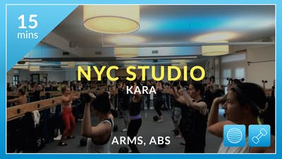 NYC Studio: Arms and Abs with Kara December 31st by Physique 57