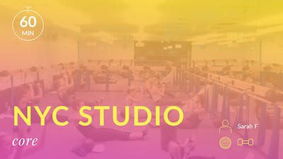 NYC Studio: Core with Sarah F. October 16th by Physique 57