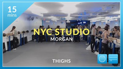 NYC Studio: Thighs with Morgan October 4th by Physique 57