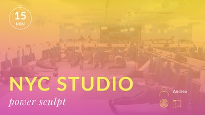 NYC Studio: Abs in 15 minutes with Andrea October 5th by Physique 57