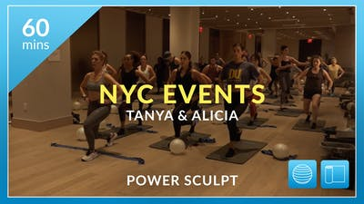NYC Events: Power Sculpt with Alicia and Tanya by Physique 57