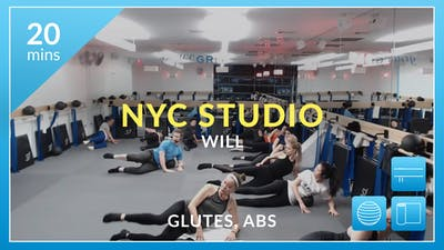 NYC Studio: Glutes and Abs with Will December 15th by Physique 57