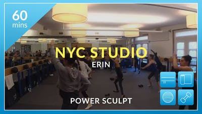 NYC Studio: Power Sculpt with Erin May 16th by Physique 57