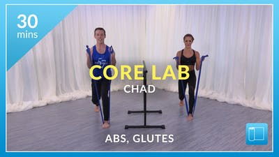 Core Lab: Abs and Glutes with Chad by Physique 57